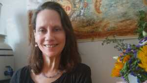 "Peggy Brusseau, author of ""The Contented Vegan"" published by Head of Zeus"
